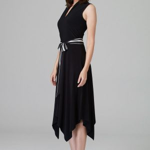 Black Handkerchief Dress 201457