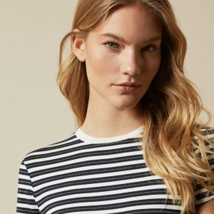 AVVERI Breton striped T-shirt
