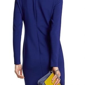 Dress with Asymmetrical Flounce