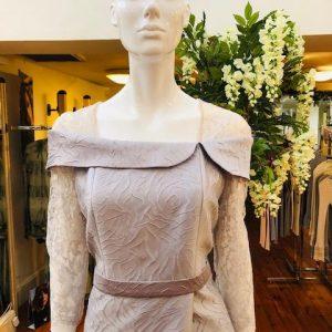 Dress Taffeta & Lace Style no. 96657