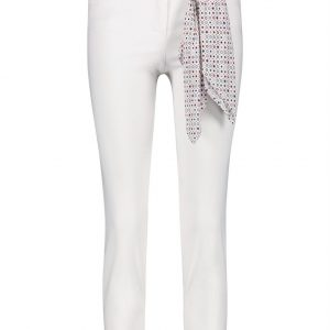 7/8-length trousers to go, Best4me White