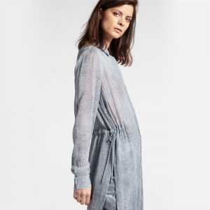 Tunic with Drawstring Waist