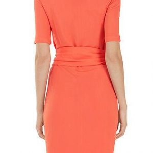Marccain - Orange Ring Belt Dress