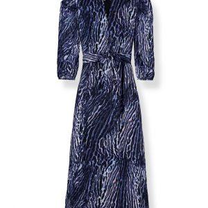 Pyrus Maggie Ocelot Maxi Dress