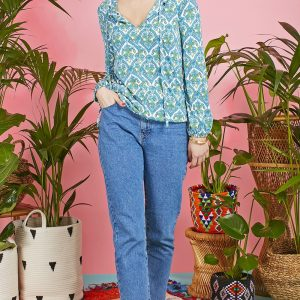 Alice Top Hera Blue