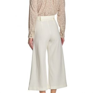 French Connection - White Belted Trousers