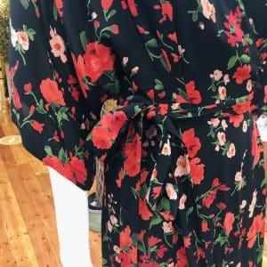Isabel De Pedro - Red Floral Maxi