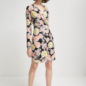 Enoshima Jersey Wrap Dress