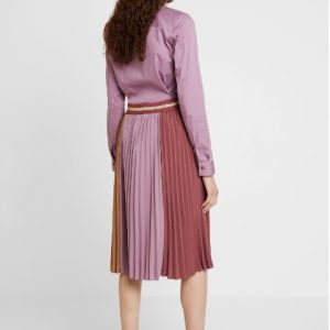 Plisse Sport Skirt in Wild Plum