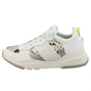 Ted Baker - Snakeskin Chunky Leather Trainers
