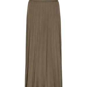 Plisse Jersey Skirt