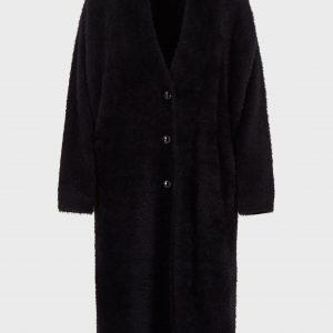 Oversized Plush Cardigan