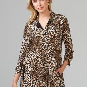 Leopard Print Tunic 203088