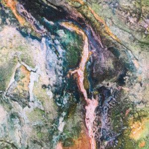 Multi Watercolour Scarf