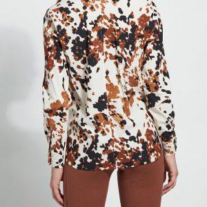 Cowhide Slim Buttoned Shirt