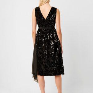 Eano Sequin Mix Dress