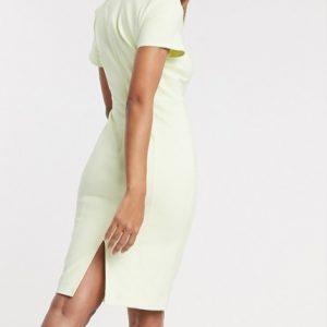Lemon Bodycon Dress