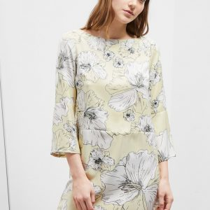 Tropical Flora Dress