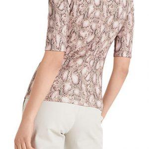 Reptile Print Cotton Shirt
