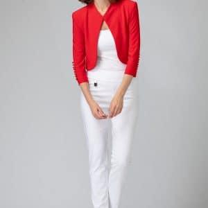 White High Waist Pant Style 144092