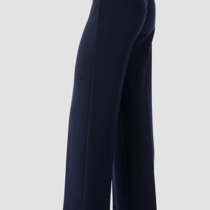Navy Pleated Pant Style 153088