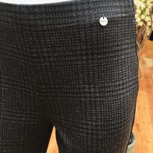 Colette Fit: Houndstooth Print Trouser