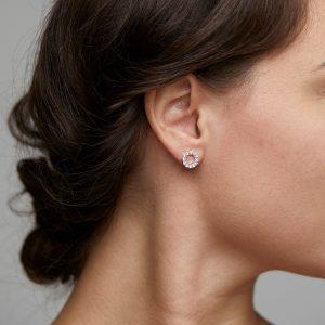 PILGRIM-Malin Earring Silver