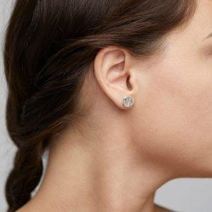 PILGRIM-Josefine Earring Silver