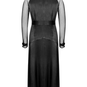 Esa Dress With Mesh Sleeves