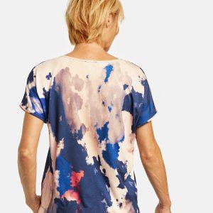 Top with Batik Print