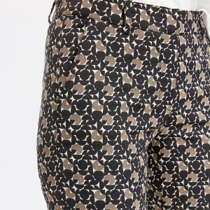 Trousers with Retro Print