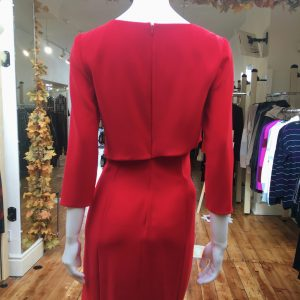 Silky Draped Dress