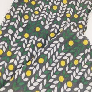 Leaf Print Neck Wrap