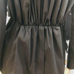 Cinching Black Shirt