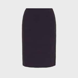 Embossed Wave Skirt
