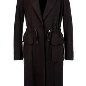 Wool Jersey Coat
