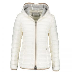 Blanco Quilted Coat