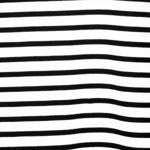Black Striped Tasha Top