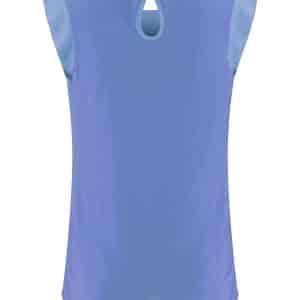 Bay Blue Cap Sleeve Top