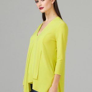 Sleeved Lime Tunic Style 161066