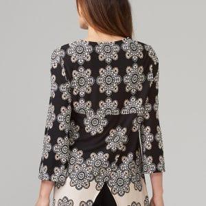 Boho Zip Style Tunic 203512