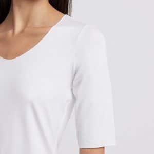 3/4 Sleeve Jersey Sweater