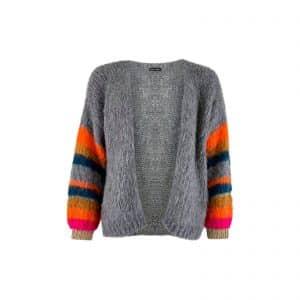 Hera Brushed Knit Cardigan