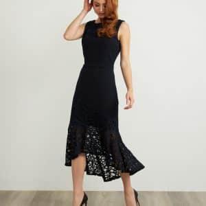 Lace Detail Dress Style 211071