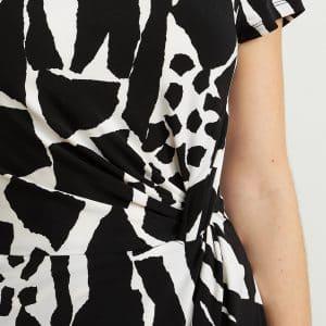 Animal Print Dress Style 211397