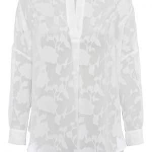 White Floral Clarita Shirt