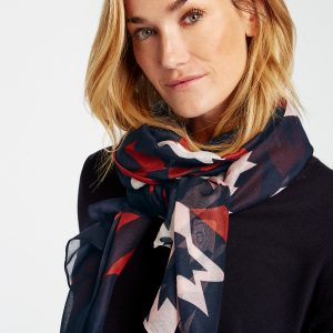 Abstract Houndstooth Scarf