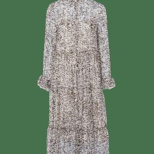 Leopard Mix Chiffon Dress
