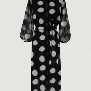 Black Spot Paglia Dress