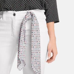 Best4me 7/8 Length Five-pocket Jean in White
